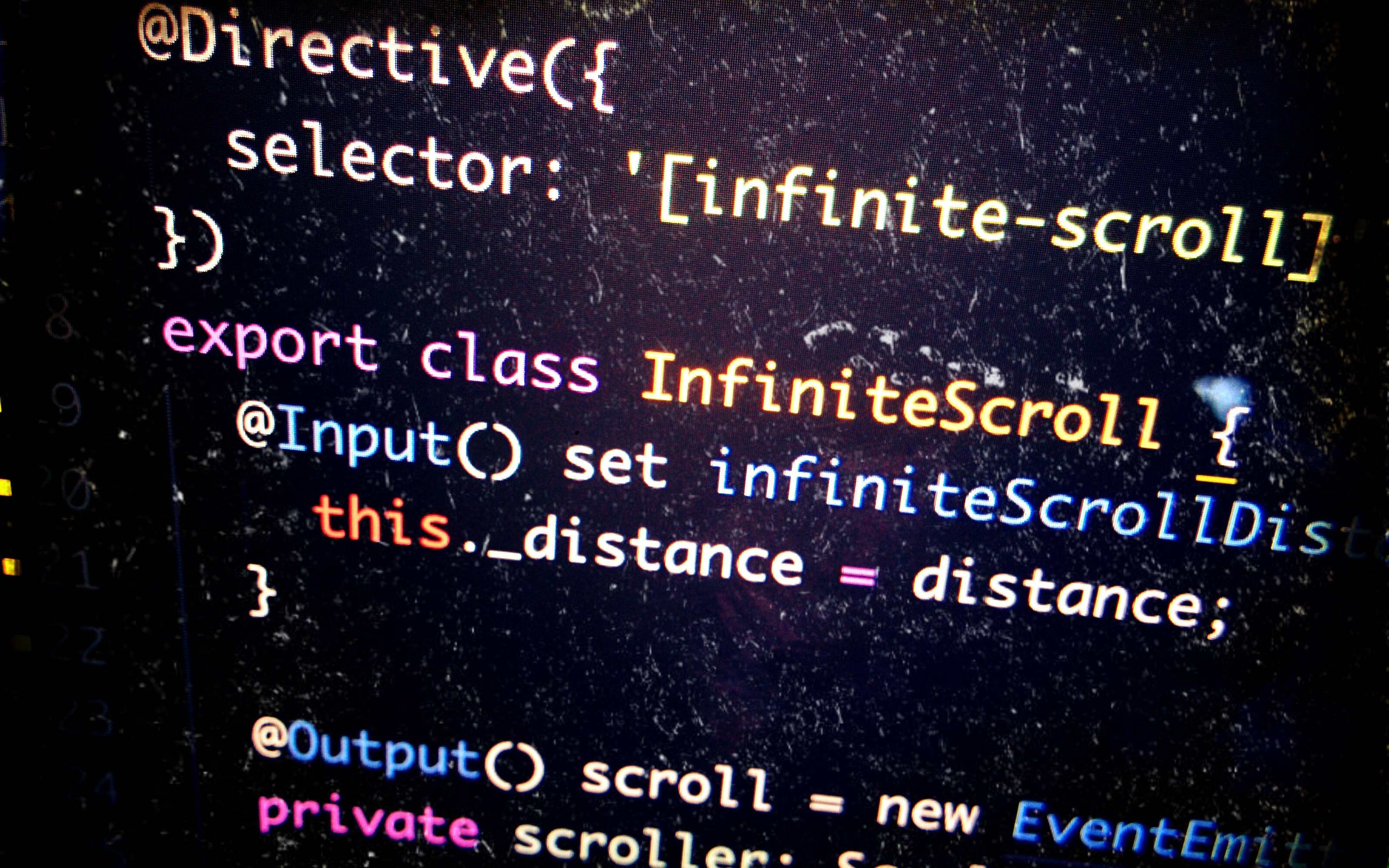 Angular 2: Attribute @Directive() and Creating An Infinite