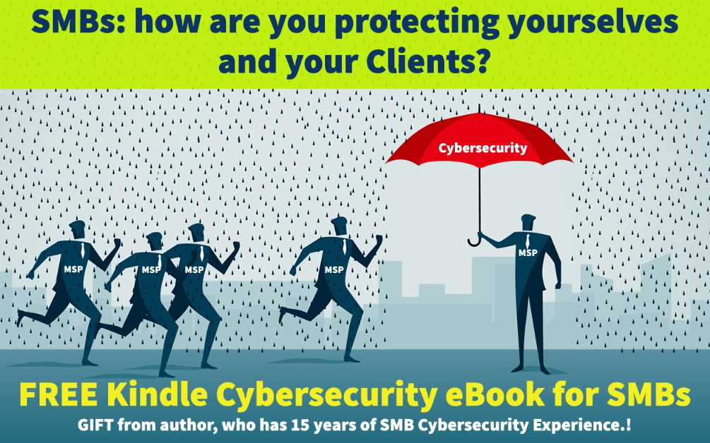 Get a Free Cybersecurity Kindle eBook Until June 18th