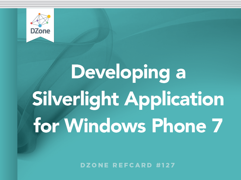 Developing a Silverlight Application for Windows Phone