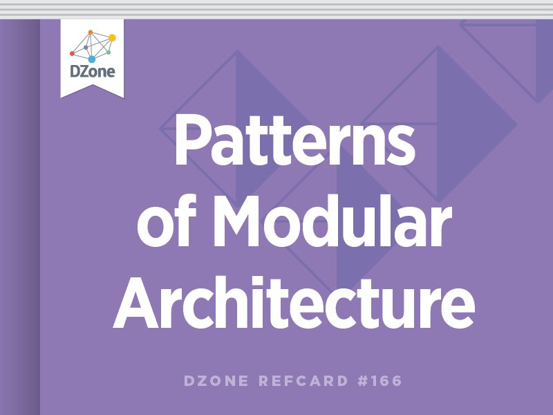 Patterns Of Modular Architecture