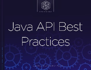 Java API Best Practices
