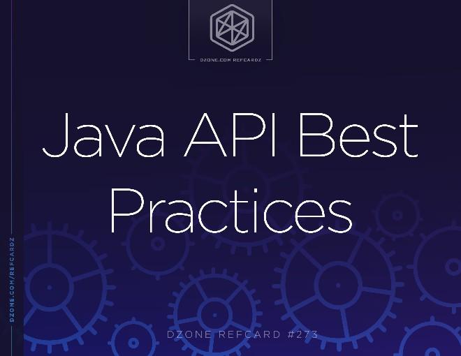 Java API Best Practices