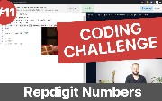 Day 11 of 30 - Ruby Coding Challenge - Repdigit Number Algorithm