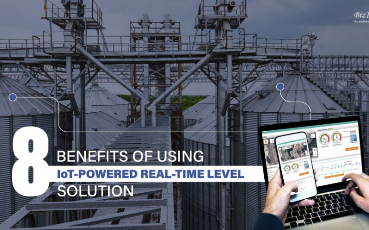 8 Benefits of Using IoT Powered Real-Time Level Solution