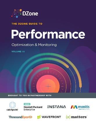 Performance: Optimization and Monitoring
